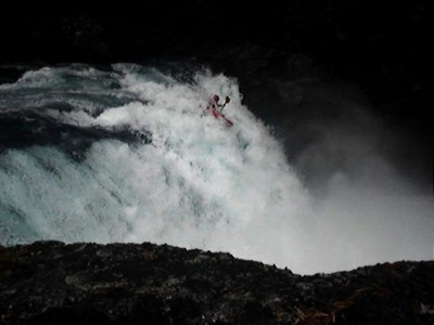 Paddling Overlander Falls